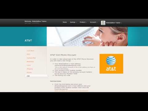 DISCOUNT AT&T AND VERIZON CELLPHONE BILLS
