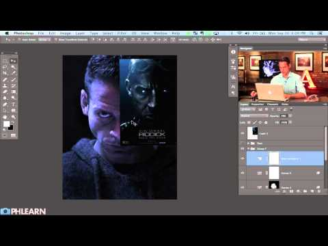 Creating a Movie Poster in Photoshop:  Riddick - Part 1