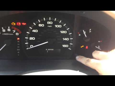 Reset Oil Maintenance Light - 2004 to 2006 Honda Accord