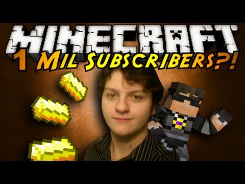 Minecraft: ONE MILLION SUBSCRIBERS?! (Ft. Friends!)