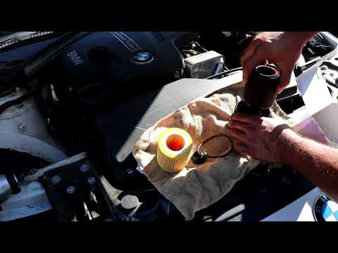 2011+ BMW 328i Oil change N20 Engine! (F30 chassis)