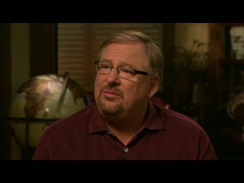 Rick Warren on son: Matthew was not afraid to die