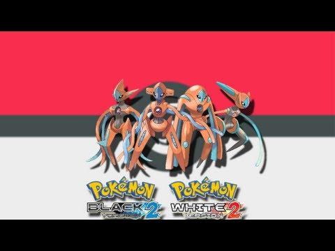 Como cambiar de forma a Deoxys Pokemon Black,Black2,White,White2