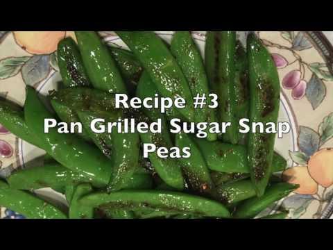 Sugar Snap Peas: Three Ways
