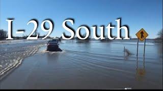 Download American Truckers - Truck Driver vs Midwest Flood 2019 Nebraska Iowa Missouri Video