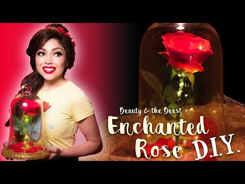 Enchanted Rose DIY - Beauty and the Beast (EASY!)