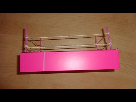 Miniature Wrestling Ring - DIY LPS Crafts, Easy Doll Crafts & Dollhouse Accessories