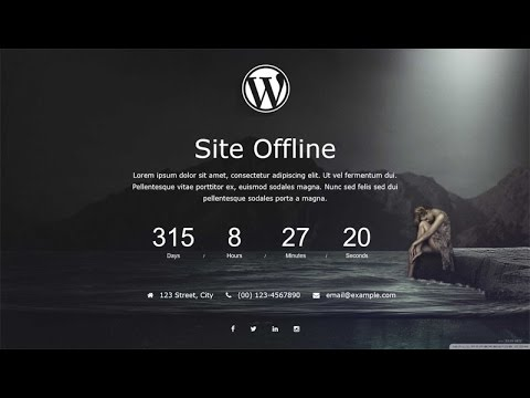 site offline plugin wordpress