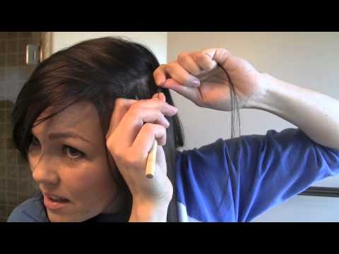 How to do FEATHER HAIR EXTENSIONS   Kandee Johnson