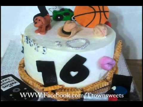 T Town Sweets Promo Cake