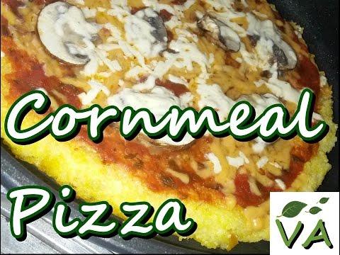 Cornmeal Pizza | Vegan & Gluten Free Recipe | Vegan Acres