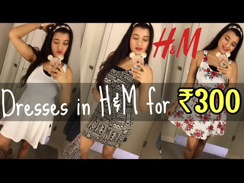 I BOUGHT 3 H&M DRESS FOR RS.300 | How bloggers shoot in INDIA | VLOG : Nukhrewali