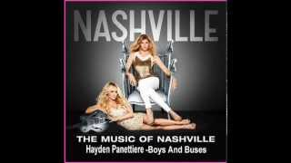 NASHVILLE- Hayden Panettiere- Boys & Buses