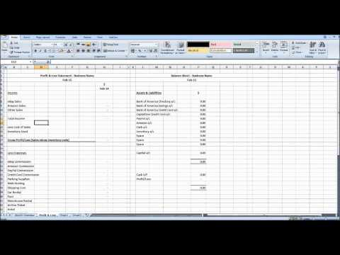 Creating Management Accounts using Excel #1 - Intro