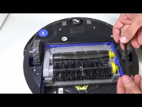 Irobot Create 2 to working roomba (brush assembly)