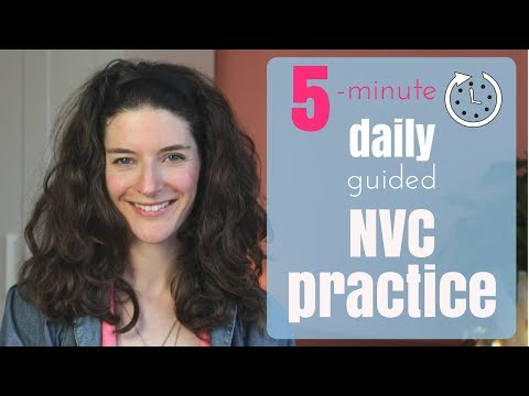 Start your daily 5-minute NVC practice