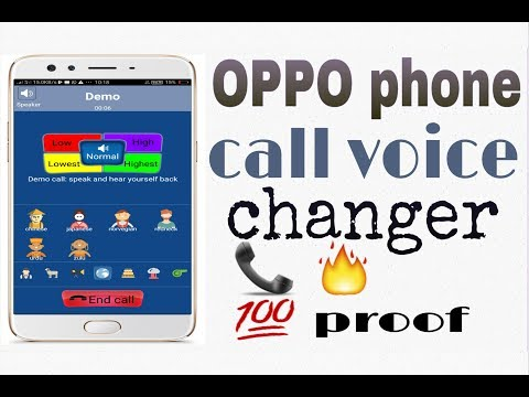 OPPO phone call voice change 📞 🔥 💯 proof