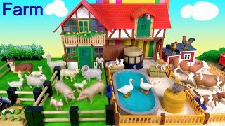 Farm Animal Toys For Kids Cows Goats Sheep Pigs Alpacas - Learn About Farm Animals