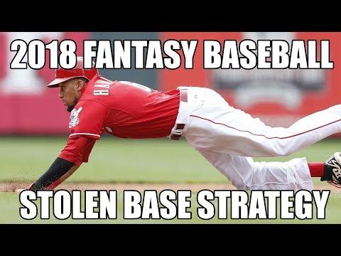 2018 Fantasy Baseball Stolen Bases Strategy