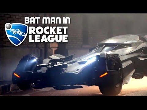Batman in rocket league!!!!