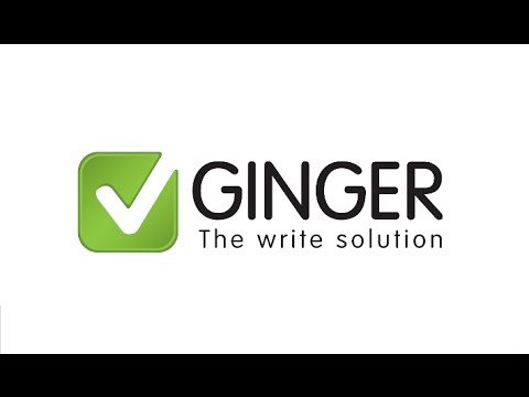 HOW to check grammar, spelling and writing tips with FREE Ginger software