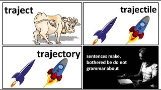 18.8 traject trajectory transject trajectile meaning in Hindi by Puneet Biseria