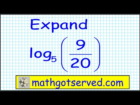 Properties of logarithms approximation  PrU3L2b How to apply precalc