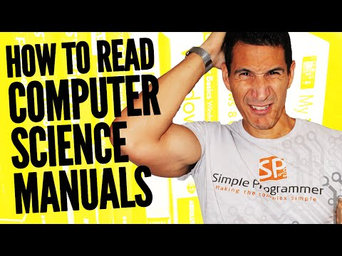 How To Read Computer Science Manuals?