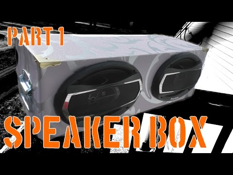 Dual 6x9 speaker box | Part 1 | The Workshop