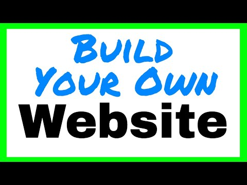 HTML TUTORIAL - Build Your Own Website