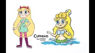Star vs. the Forces of Evil as Cuphead characters