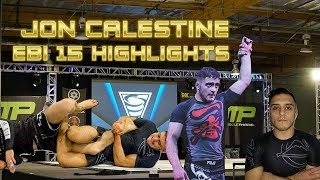 The Rise Of A Star Jon Calestine EBI 15 Highlights All Matches