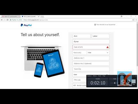 How to Create or Verify PayPal Account in India - Step By Step