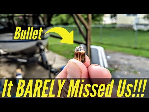 They Almost Shot My KIDS!!! Bullet Found!!!