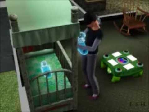 How To Have a Ghost Baby- Sims 3
