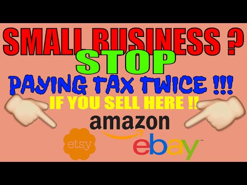 Selling online Etsy Amazon GET TAX EXEMPT Dont pay tax twice