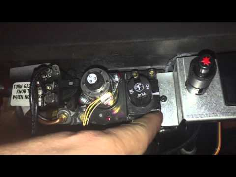 How to Light the Pilot Light on the Gas Fireplace