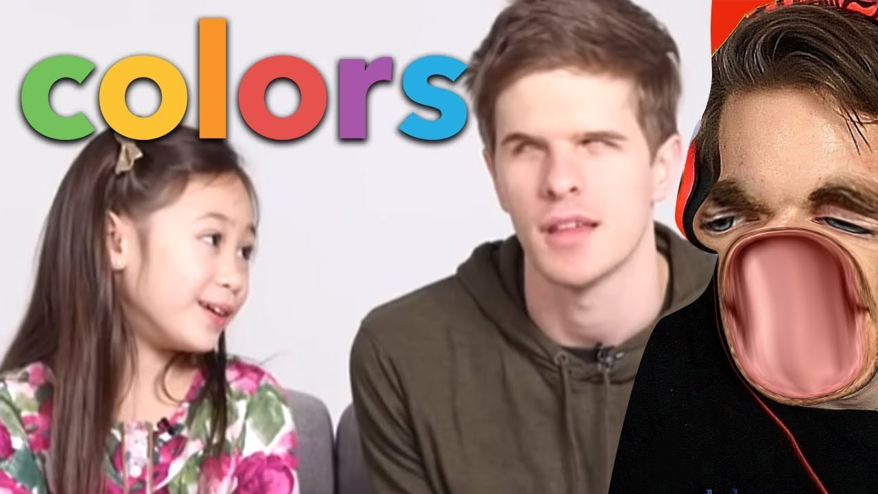 Kids Describe Colour To A Blind Person
