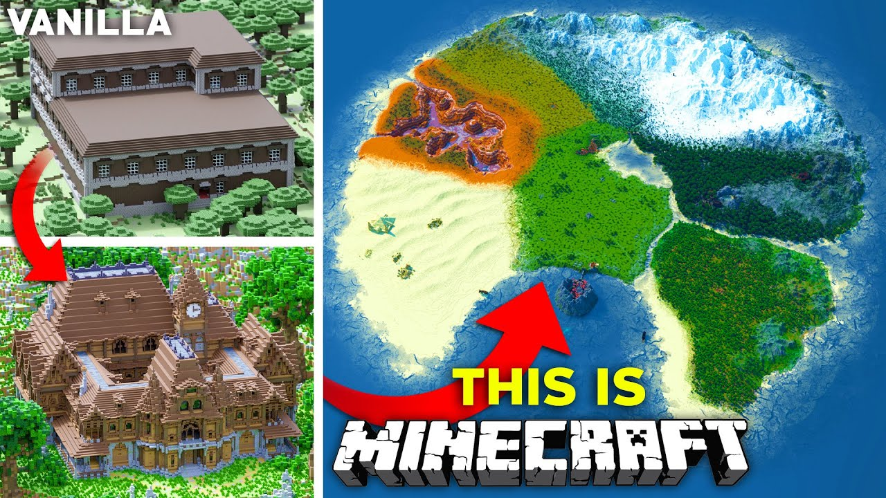 Upgrading The ENTIRETY of Minecraft - The ULTIMATE Survival World | Part 3