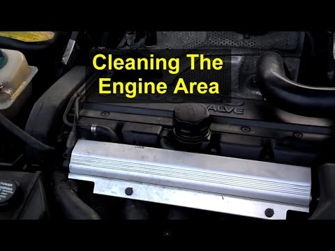 How to clean the engine compartment of your car or truck. -  VOTD