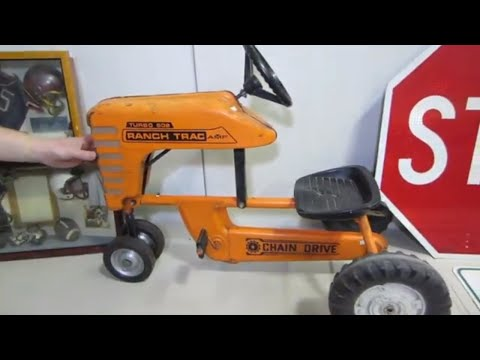 Look What I Found Auction Preview-AMF Pedal Tractor