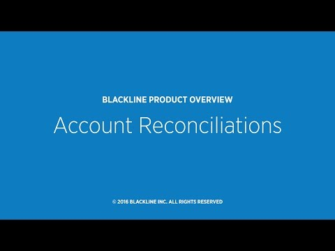 Account Reconciliations Overview
