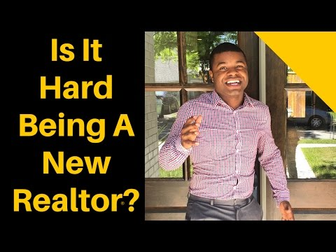 Is it hard being a new Realtor? Chastin J. Miles - Dallas TX Real Estate Agent