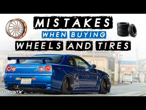 5 MISTAKES When Buying Wheels and Tires