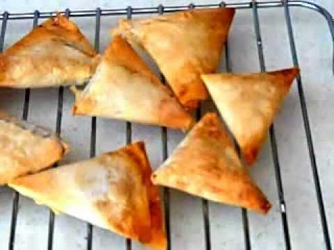 Easy to make Phyllo Pastry recipe with Apricot Filling