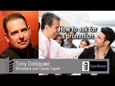 How to ask for a promotion