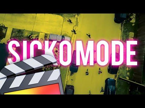 Travis Scott - Sicko Mode ft. Drake COLOR MASK Effect!