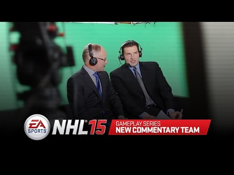 NHL 15 Gameplay Series: New Commentary Team