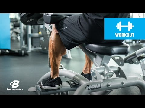 Three-move Calf Workout | IFBB Pro Jake Alvarez