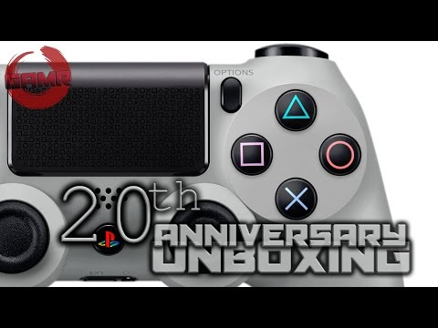 PS4 Dualshock 4 20th Anniversary Edition Unboxing